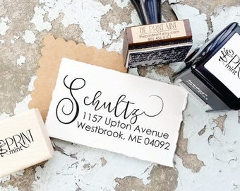 Address Stamp, Return Address Stamp, Self Inking Address Stamp, Custom Address Stamp, Personalized Address Stamp -CS-10253