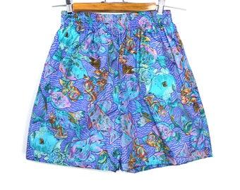 Vintage Aqua Shorts