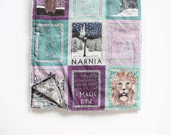 Narnia Book Blanket // Throw Blanket