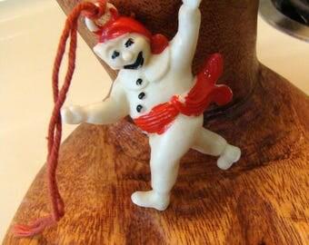 Carnival De Quebec 1973 collectible ornament, snowman ornament, Vintage Canadian ornament