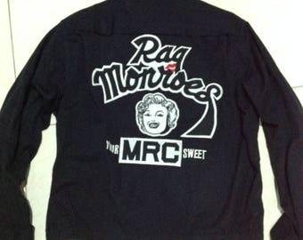 "Vintage RAQ MONROES ""YURIKO"" mc jacket size L"