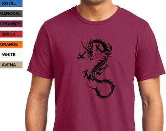 Dragon 03 T-shirt Men Short Sleeve