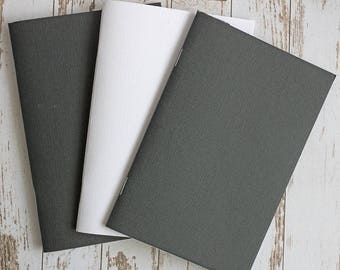 TN Set of Four Three Month Dated Planners, notebooks, 120gsm paper, (DVW, DHW)