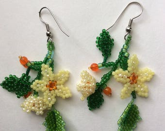Kit for Floral Bouquet Earrings