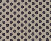Farmer's Daughter - Shabby Dots Taupe by Vanessa Goertzen of Lella Boutique for Moda, 1/2 yard, 5055 13