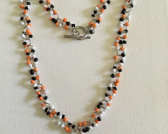 Bengal Glass Beaded Necklace