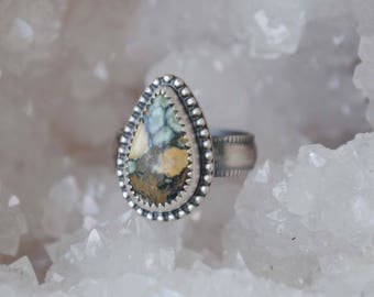 Sterling Silver 7 Dwarfs Ring (size 7.75), 7 Dwarfs Jewelry