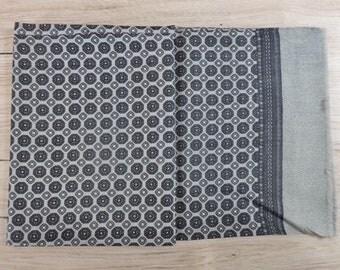 "Vintage Hipster Mens scarf 120cm x 26cm / 47.2"" x 10.2"""