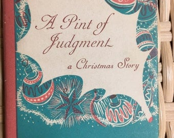 A PINT OF JUDGMENT by Elizabeth Morrow
