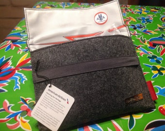 American Airlines Heritage Travel kit