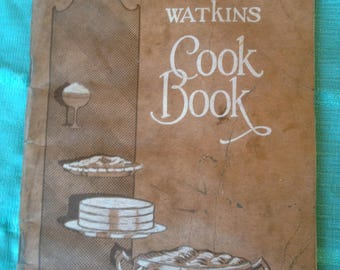 Very Old Watkins Cookbook