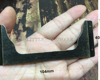104mmx40mm bronze color rustic card holderlabel framesname holders