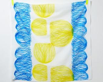 Nani IRO Chorus Blue ~ Nani IRO 2017 Fabric ~ Double Gauze Fabric ~ Japanese Fabric ~Kokka Fabric ~Naomi Ito ~ Quilt Fabric ~ Apparel Fabric