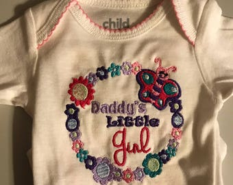 Daddys little girl onsie any size you want