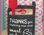 Smart Cookie SVG. Great for teacher's gift. One Smart Cookie SVG Silhouette Studio Designer Edition Cricut Design Space Teacher Appreciation