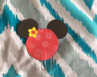 Lilo Inspired Paperclip Bookmark