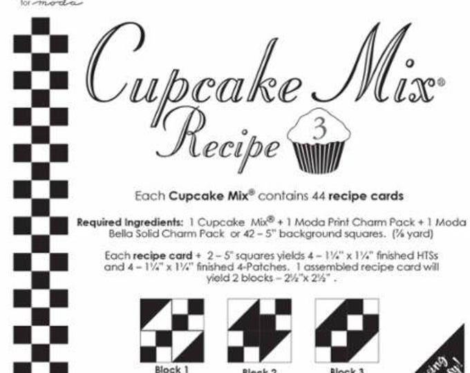 MODA Cupcake Mix Recipe 3