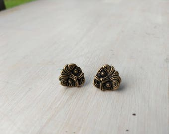 Vintage earrings,Sigmund Espeland Norway, Saga, Viking
