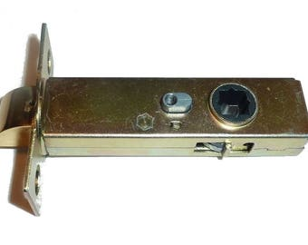 "SOLID BRASS Latch Set for Door Hardware 2 3/8"" Backset"