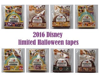Disney Limited Halloween washi tapes
