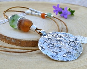 Full moon necklace, valentines gifts for her ideas, bohemian jewelry  for wife, hippie necklaces for woman, cute birthday gifts girlfriend