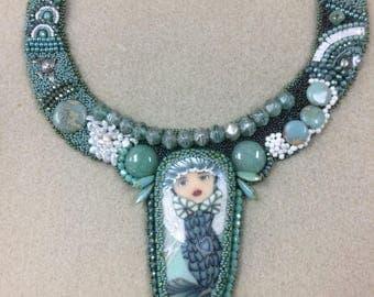 Bead Embroidery Mermaid