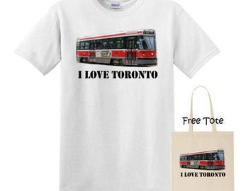 Toronto T-Shirt with Free Tote