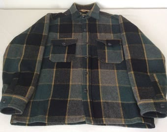 Mens Fur Lined Thick Padded Check Lumberjack Shirt Fleece Jacket Warm Winter