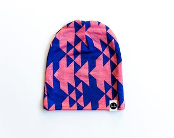 Colorful Aztec Slouch Beanie