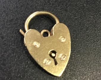 9ct gold Hallmarked padlock