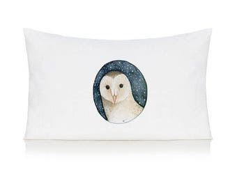 Owl pillow case, cushion, bedding, pillow cover