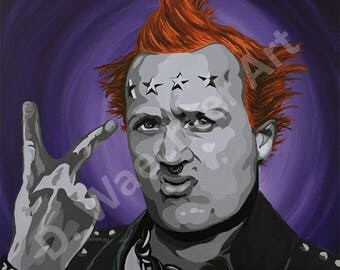The Young Ones - Vyvyan  Print