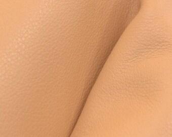 "Timeless Sunkissed Tan ""Signature"" Leather Cow Hide 4"" x 6"" Pre-cut 3-4 oz DE-60511 (Sec. 8,Shelf 6,C,Box 1)"