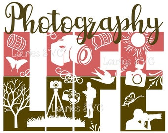 Photography life Boy  file- svg,png,jpg and  silhouette