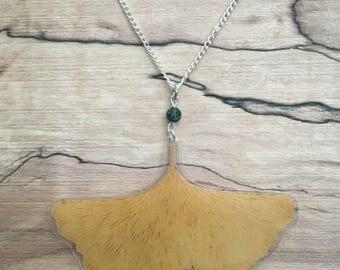Gingko - Pressed Leaf Necklace