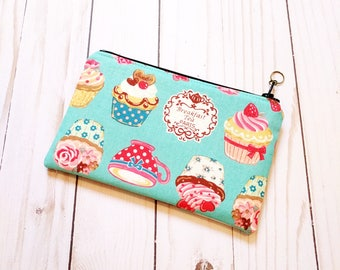 Cup Cakes Small Zipper Pouch
