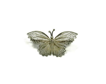Vintage Estate Jewelry Butterfly Ladies Pin Brooch