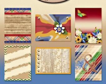 Digital Scrapbook, 3x4 Journaling and Decorative Cards: Gotta Be Me