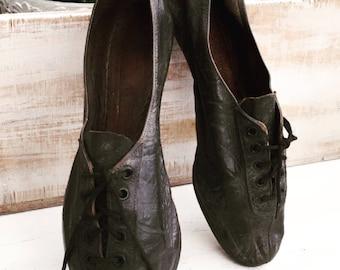 Antique Edwardian Running Shoes