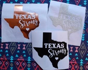 Texas Strong / Texas Strong Decal / Hurricane Harvey / Texas / hurricane relief / hurricane / harvey / houston / rockport / houston strong
