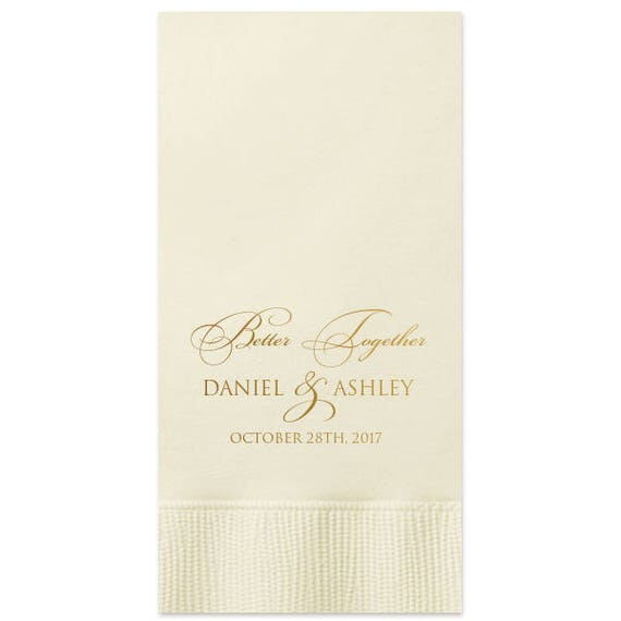 100 personalized guest towels bathroom restroom hand towels