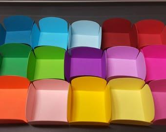 CHOCOLATE WRAPPER - Plain Candy; Chocolate Candy Sweet Wrapper Open box, forminha docinho