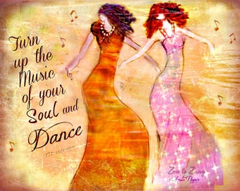 DANCE by Anita of Zen to Zany  Prints or Cards available...No Zen to Zany watermark on prints