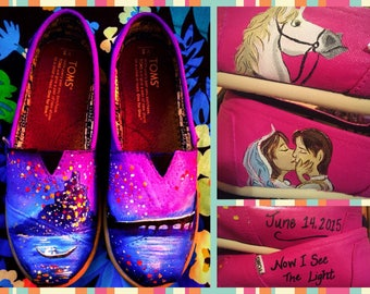 Custom made Tangled Toms. Designed and personalized just for you!