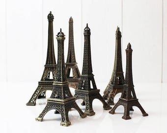 Metal Eiffel Tower Cake Topper, Eiffel Tower Centerpiece Paris Eiffel Tower Decor. Paris Party Decorations, French Wedding Cake Topper, D54