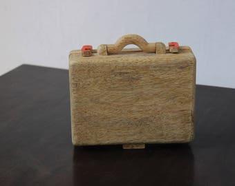 IVEI Suitcase shaped desk organizer- orange