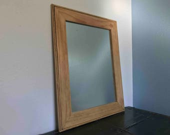 Large Pine Mirror Frame - Handmade out of Clear Pine
