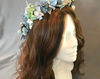 Flower Crown, Wreath, Tiara , Boho Headpiece, Festival Headpiece
