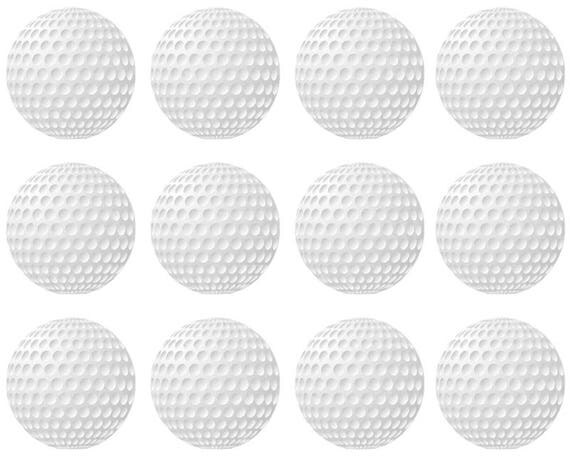 Golfing Golf Balls Birthday - Designer Strips - Edible Cake Side Toppers- Decorate The Sides of Your Cake! - D22755