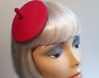 "Pink Headpiece ""Little Frenchman"""